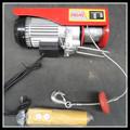 500kg電気クレーンをホイスト 110V