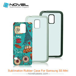 DIY TPU mobile phone case sublimation phone cover for Samsung S5 mini