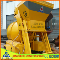 Small Portable Concrete Machine JZM450 Cement Mixer Price