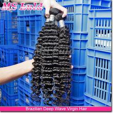 AAAAA mslula hair products!!!!! Double Drawn Best selling hair weave processed brazilian pretty hit hot curly human hair