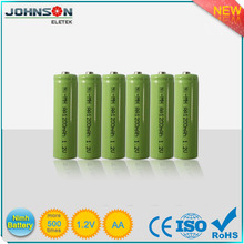 china manufactures 1200mAh rechargeable 1.2V nimh battery for RC