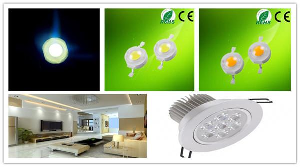1w White 2800k 3000k 3500k 5000k 6000k 7000k 8000k High Power LED Diode.jpg