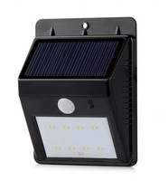 ABS Lamp Body Material and IP65 IP Rating Solar Integrated LED Light