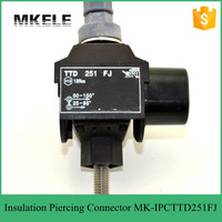 Low voltage waterproof insulation piercing connector,IPC Insulated plastic wire connector,cable connector for ABS cable