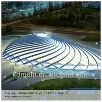 ETFE Tensile Membrane Structure Station Transportation Hub