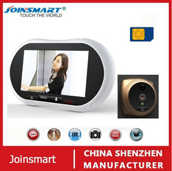 apartment intercom system video door phone with passive motion detector , fire beam detector