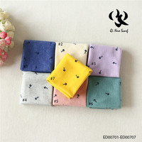 Latest arrival trendy style military fashion scarf 100% cotton China wholesale