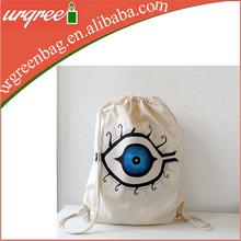 customizable cotton canvas lingerie bags