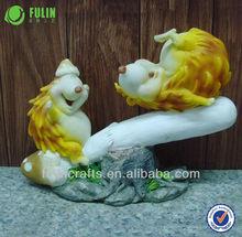 del medio ambiente de decoración del hogar resina figuras de animales