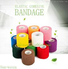 CE/FDA/ISO Qualified Non-woven Elastic Medical Cohesive Bandage dog printed bandage