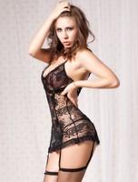 Wholesale black XXXL plump women sexy mature plus size lingerie