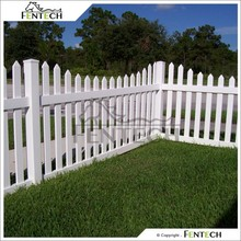 Uv Proof Plastic Garden Fence Panels , Picket Fence,