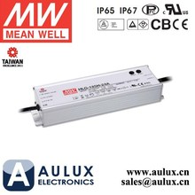 Meanwell Driver LED Street Light HLG-185H-24A 185W 24V 7.8A Meanwell LED Driver For LED Street Light