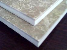 Marble Composite Floor Tile Marble Laminated With Ceramic for floor (Light Emperador)