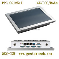 Bay Trail J1900 quad core industrial touch screen panel pc