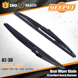 Peak performance pbt plastic wiper blade pantograph 12'' inch rear wiper blade fit for opel & buick rear wiper arm