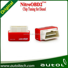 NitroOBD2 for Diesel Cars Plug and Drive Device ECU Chip Tuning Box is very easy to use Nitro OBD2 adjusts itself to the car