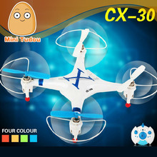 2014 new product CX-30 2.4G helicopter Top Grade 4CH RC 3D RC Quadcopter with 6-AXIS GYRO RC drone