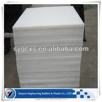 playground equipment components hdpe sheet/borate polyethylene/synthetic dasher board hdpe