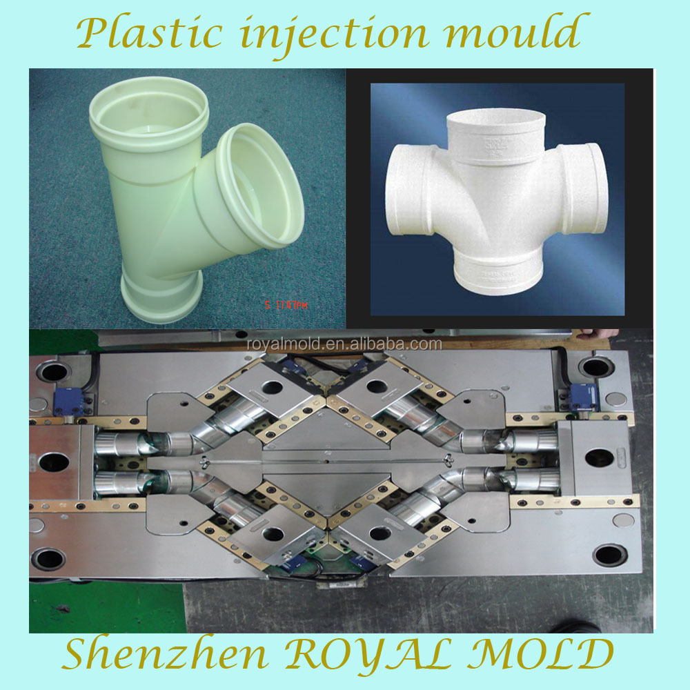 Custom pvc fittings molding injection plastic mould making