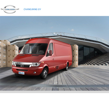 Shenzhen New Energy Luxury Electric Mini Cargo Van / Vehicle / Truck with Maximum Speed 130Km/h, 2 Seats