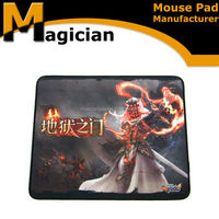 office computer mouse and beautiful girl picture cartoon mouse pad