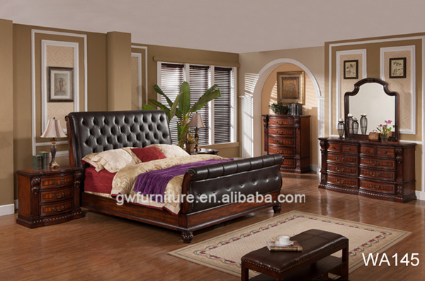 wholesale american luxury king size bedroom furniture sets