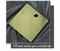 Alibaba china st37 golden brushed stainless steel sheet material properties