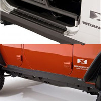 Jeep JK Wrangler Bushwacker TrailArmor Rocker Panels