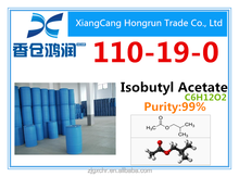 2015 Good price high purity Isobutyl Acetate CAS 110-19-0