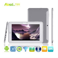 Hot sale! MTK8377 3G 9 tablet pc cover with standing Android Phone 1024x600 Android 4.1 Cortex A9 Dual Core Tablet PC T99