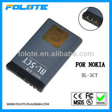 Replacement BL-5CT battery for Nokia cell phone 5220XM 6303C 6303i