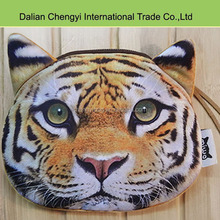 Cool smart 3D tiger lion animal coin pouch