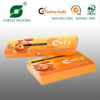 2014 WHOLESALE DURABLE ECO-FRIENDLY FLAT PACK SWEET BOX