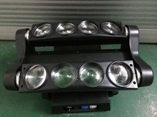 8 eyes 10w rgbw color moving head spider beam lights for club