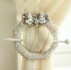 Estilo europeu resina cortina de renda clipe antigo cortina ganchos