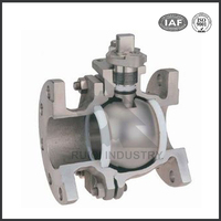 CF8/CF8M stainless steel investment casting ball valve spare parts