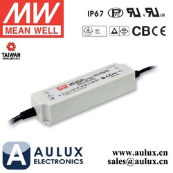 Mean Well LPF-40-48 40W 48V LED Power Supply for LED Street Light IP67 Rate 5 years warranty