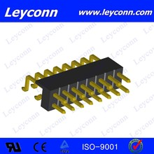 Pitch 2.0mm Double Row Surface Mount Parallel Pin Header connector alibaba China Supplier