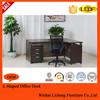 2015 New smiple Design L Shape simple Melamine Executive Office Desk/table