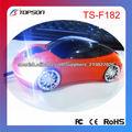 La forma del coche Ratón inalámbrico de fábrica China
