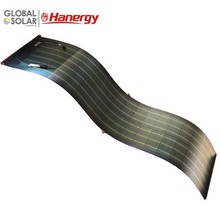 Hanergy flexible 185w pv solar panel thin film