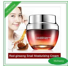 Redginseng Snail Cream Face Care Skin Treatment Reduce Scars Acne Pimples Moisturizing Whitening Anti Winkles Aging Cream
