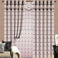 Popular walmart light balcony curtain for wedding