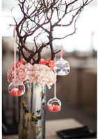 hanging glass christmas tree baubles balls MH-12654