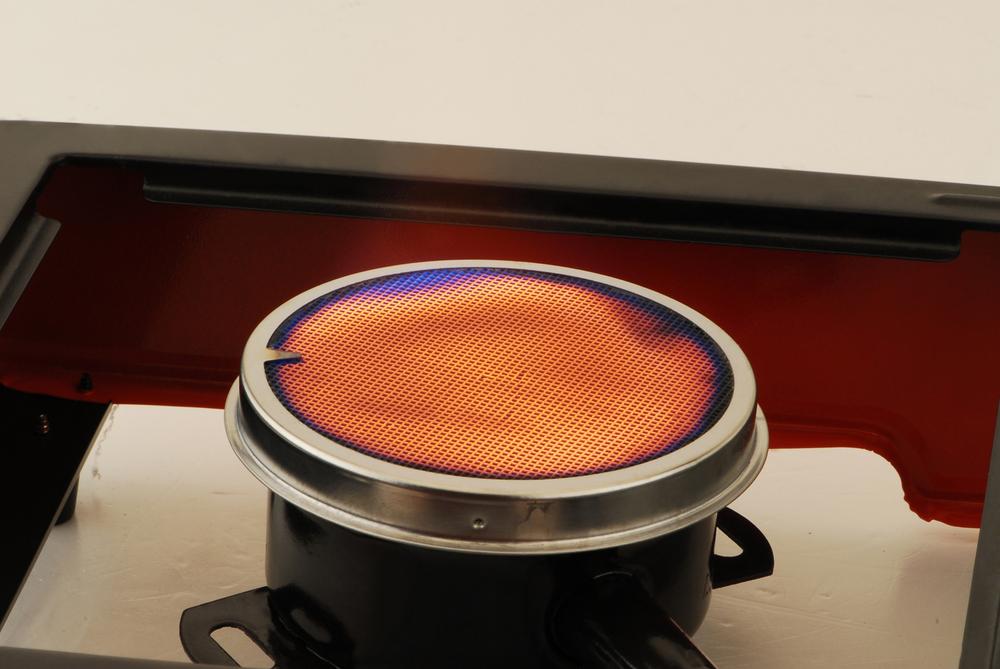 Ceramic Single Infrared Burner Portable Butane Gas Stove