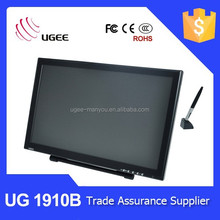 Ugee 1910B 19 inch 5080lpi cheap magnetic touch screen tablet monitor
