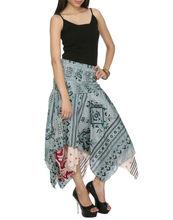 Diseñador de moda de las señoras faldas, la última colección de verano de faldas, elegante falda
