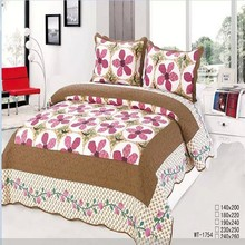 Queen size new design patchwork bed spread/quilt/bedding set for adult