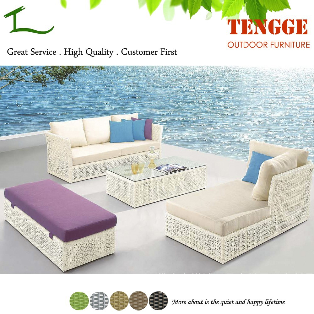 Outdoor furniture leisure rattan sofa yh 6160 buy for Y h furniture trading